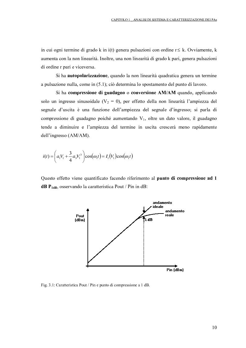 Anteprima della tesi: Progetto di PAs SWITCHING-MODE per applicazioni lineari alla telefonia cellulare 3G, Pagina 14
