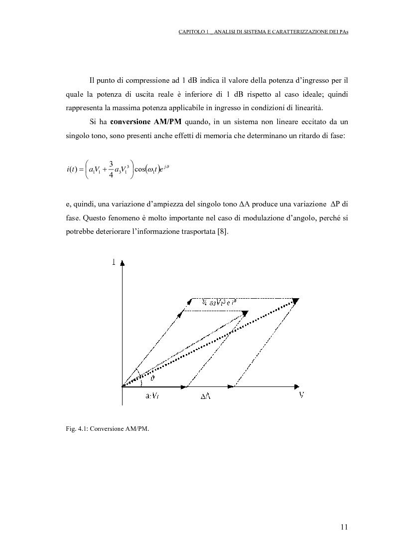 Anteprima della tesi: Progetto di PAs SWITCHING-MODE per applicazioni lineari alla telefonia cellulare 3G, Pagina 15