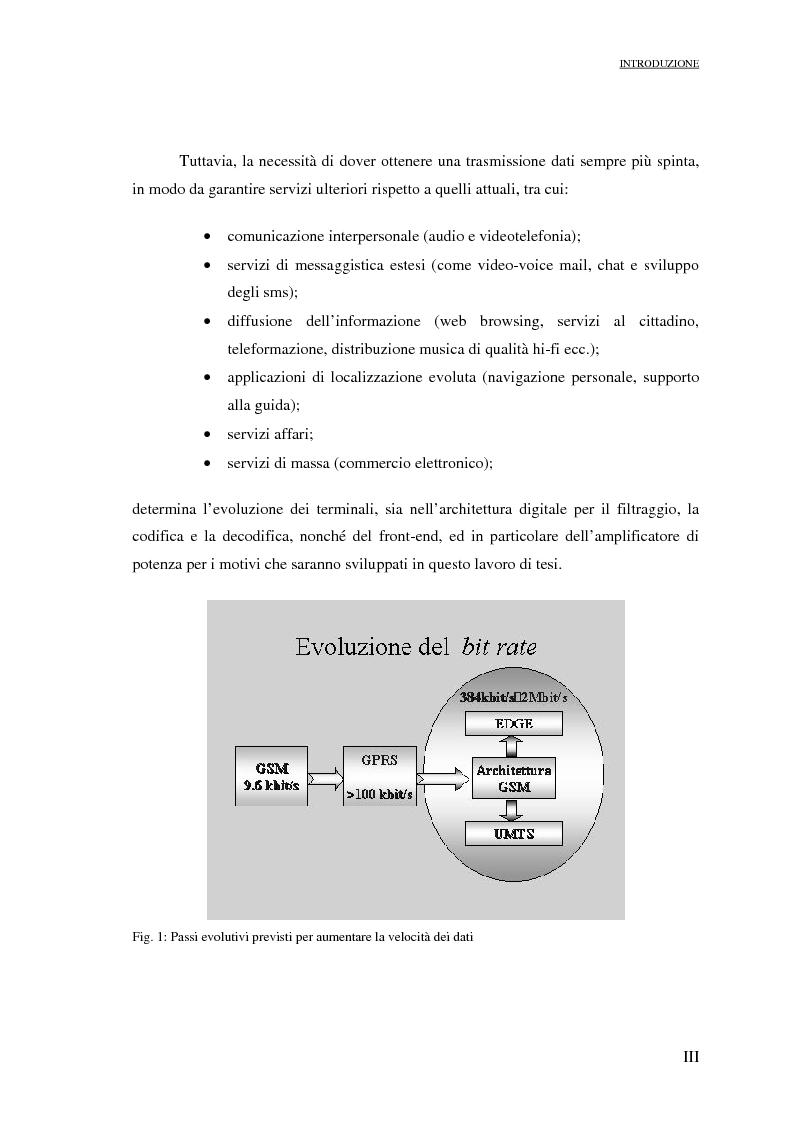 Anteprima della tesi: Progetto di PAs SWITCHING-MODE per applicazioni lineari alla telefonia cellulare 3G, Pagina 3
