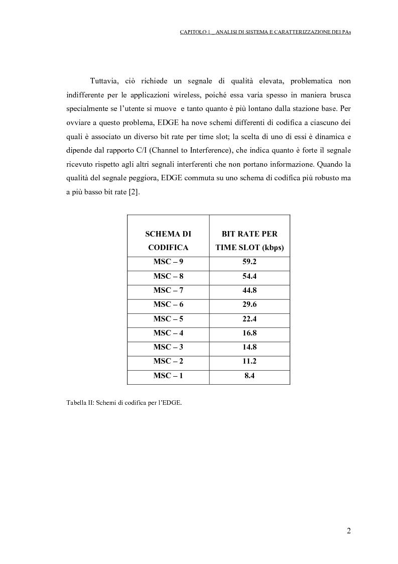 Anteprima della tesi: Progetto di PAs SWITCHING-MODE per applicazioni lineari alla telefonia cellulare 3G, Pagina 6