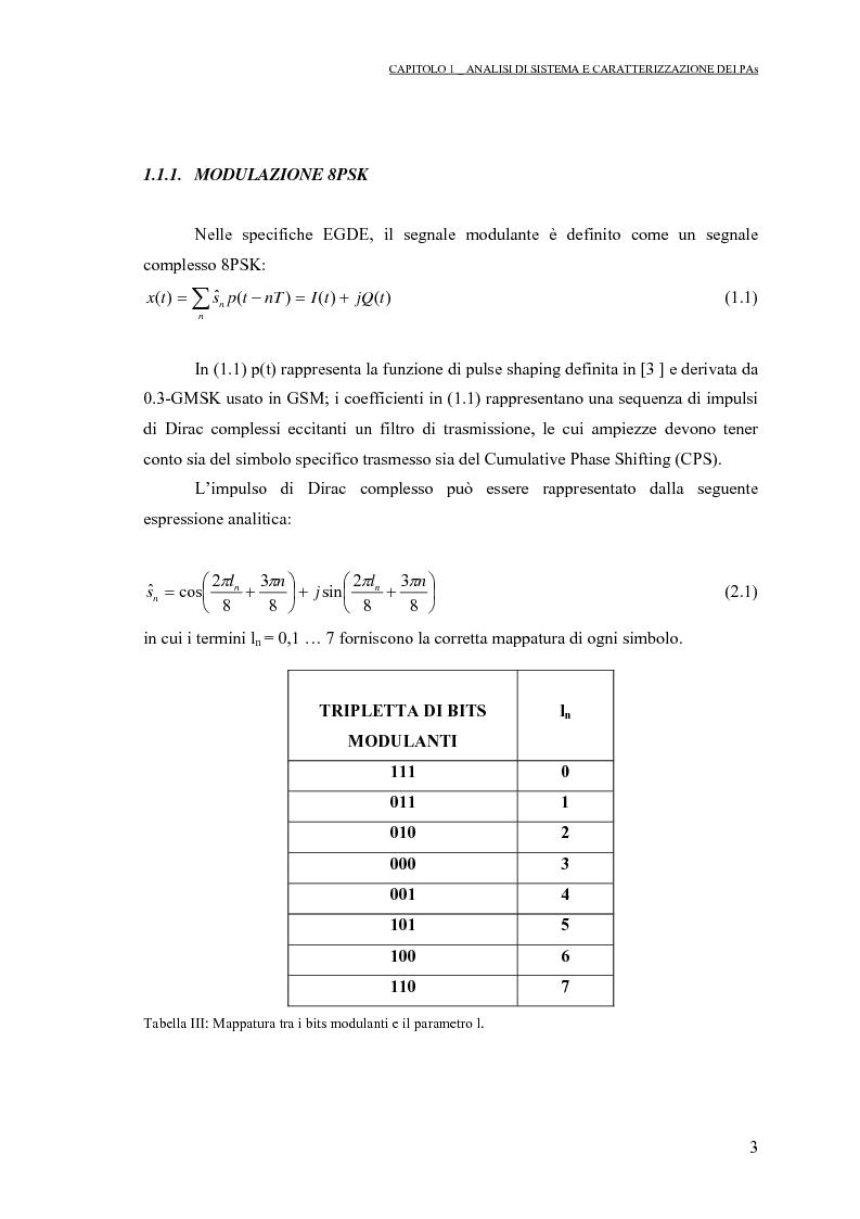 Anteprima della tesi: Progetto di PAs SWITCHING-MODE per applicazioni lineari alla telefonia cellulare 3G, Pagina 7