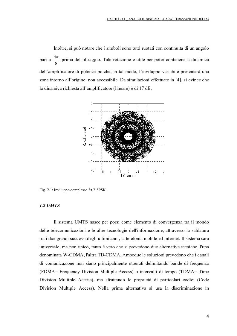 Anteprima della tesi: Progetto di PAs SWITCHING-MODE per applicazioni lineari alla telefonia cellulare 3G, Pagina 8