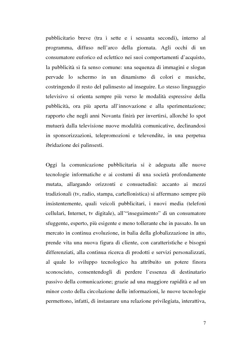 Anteprima della tesi: Click-advertising: la pubblicità nella Rete, Pagina 4