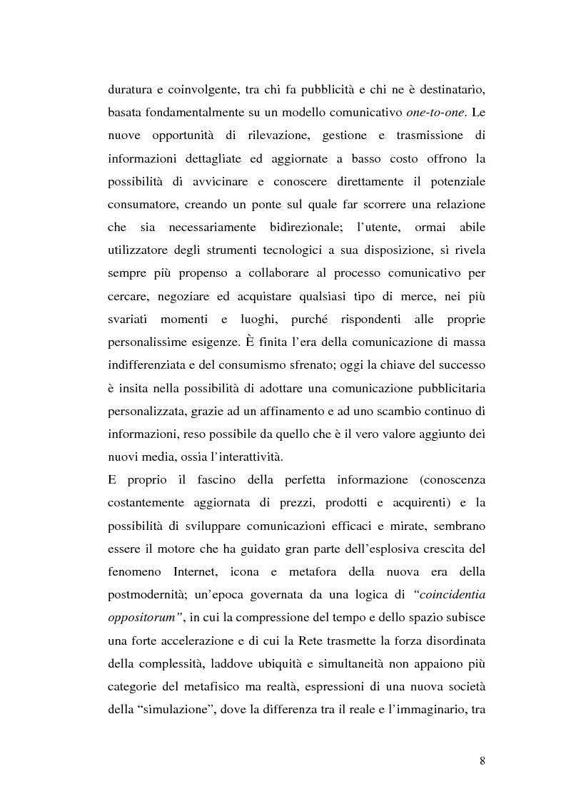 Anteprima della tesi: Click-advertising: la pubblicità nella Rete, Pagina 5