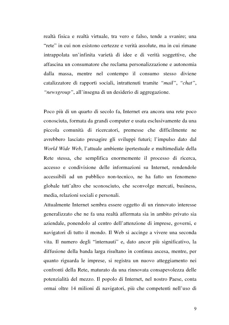 Anteprima della tesi: Click-advertising: la pubblicità nella Rete, Pagina 6