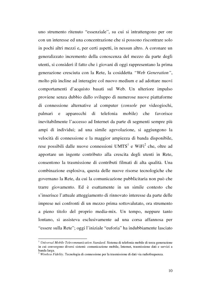 Anteprima della tesi: Click-advertising: la pubblicità nella Rete, Pagina 7