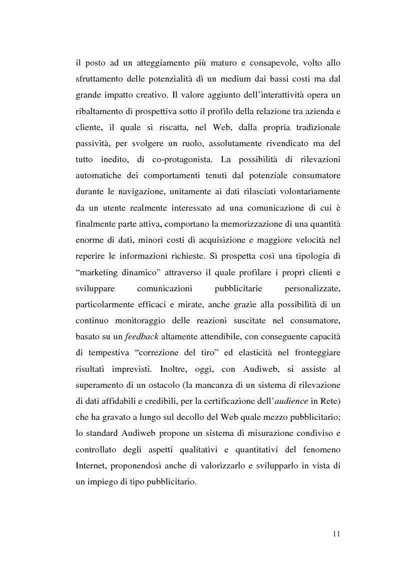 Anteprima della tesi: Click-advertising: la pubblicità nella Rete, Pagina 8