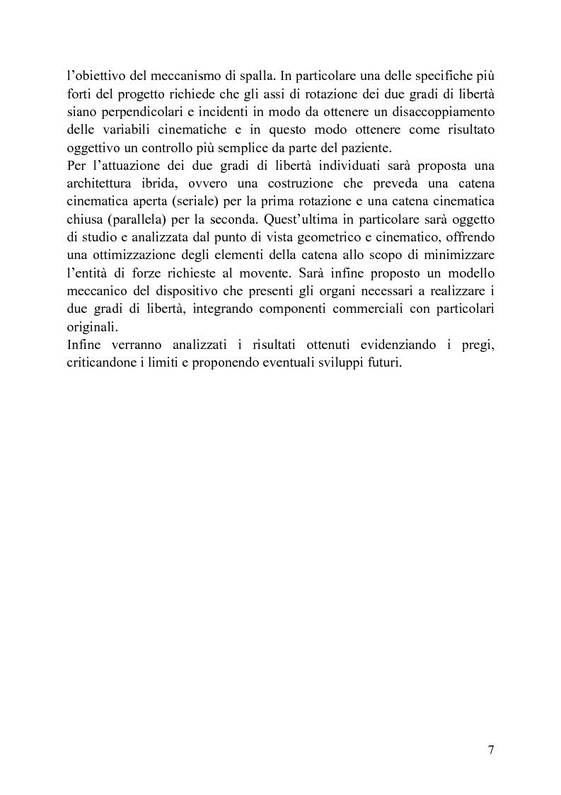 Anteprima della tesi: Progettazione di un meccanismo a due gradi di libertà e architettura ibrida per protesi attiva di spalla, Pagina 2