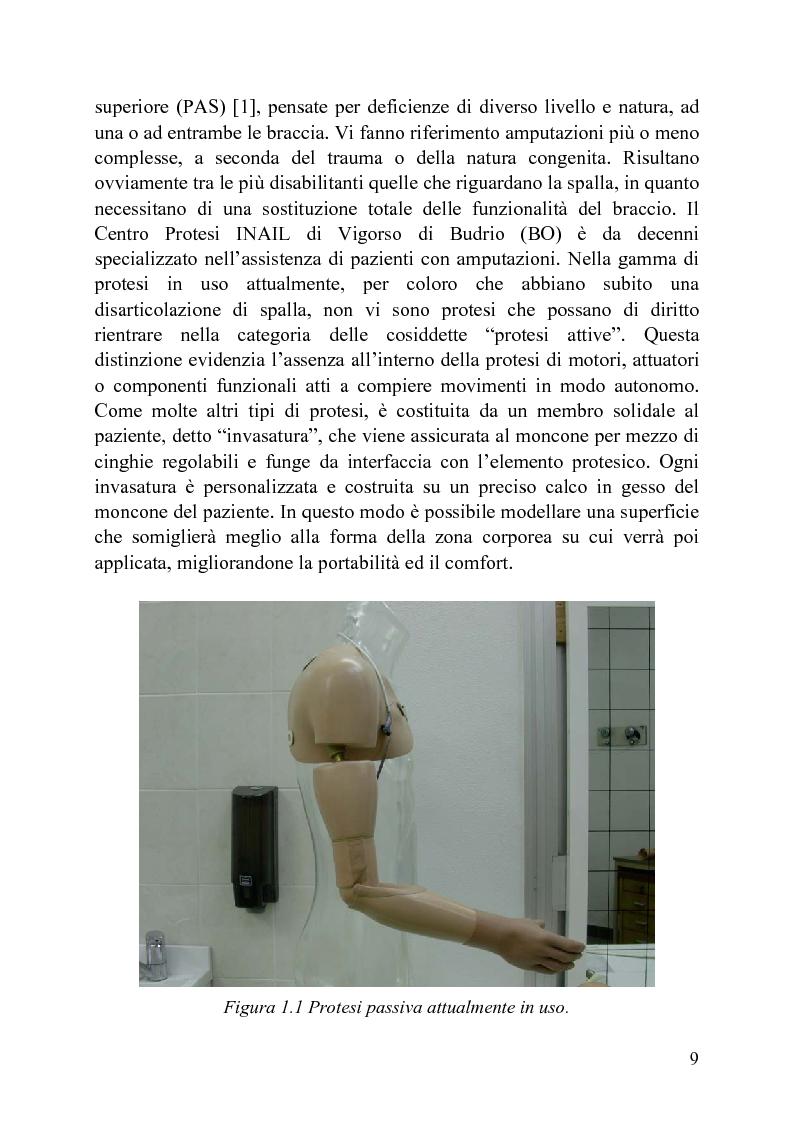 Anteprima della tesi: Progettazione di un meccanismo a due gradi di libertà e architettura ibrida per protesi attiva di spalla, Pagina 4