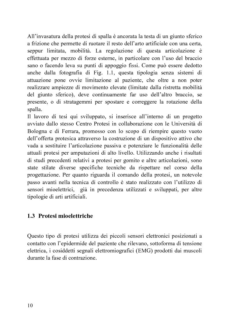Anteprima della tesi: Progettazione di un meccanismo a due gradi di libertà e architettura ibrida per protesi attiva di spalla, Pagina 5