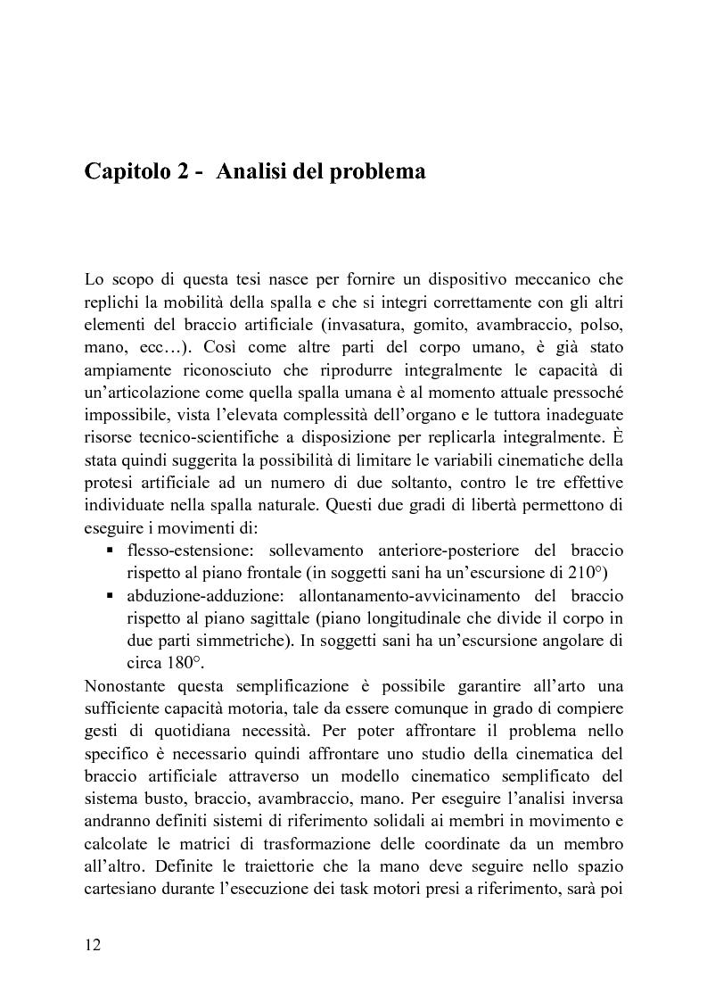 Anteprima della tesi: Progettazione di un meccanismo a due gradi di libertà e architettura ibrida per protesi attiva di spalla, Pagina 7