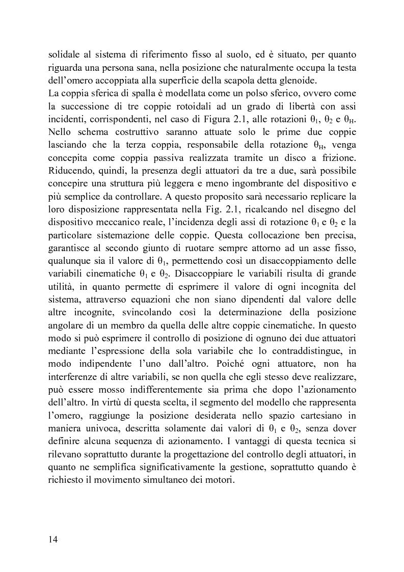Anteprima della tesi: Progettazione di un meccanismo a due gradi di libertà e architettura ibrida per protesi attiva di spalla, Pagina 9