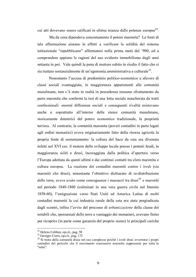 Anteprima della tesi: L'intervento della Forza Multinazionale in Libano nel 1982, Pagina 15