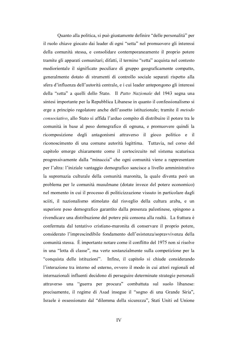 Anteprima della tesi: L'intervento della Forza Multinazionale in Libano nel 1982, Pagina 4