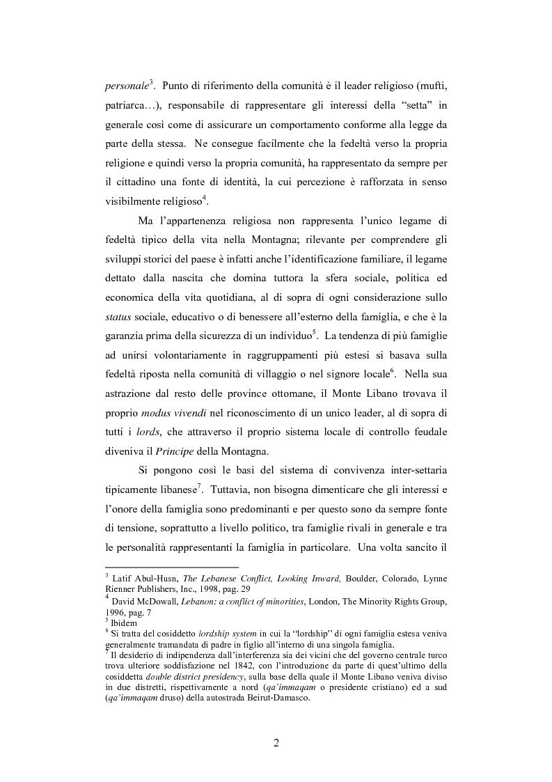 Anteprima della tesi: L'intervento della Forza Multinazionale in Libano nel 1982, Pagina 8