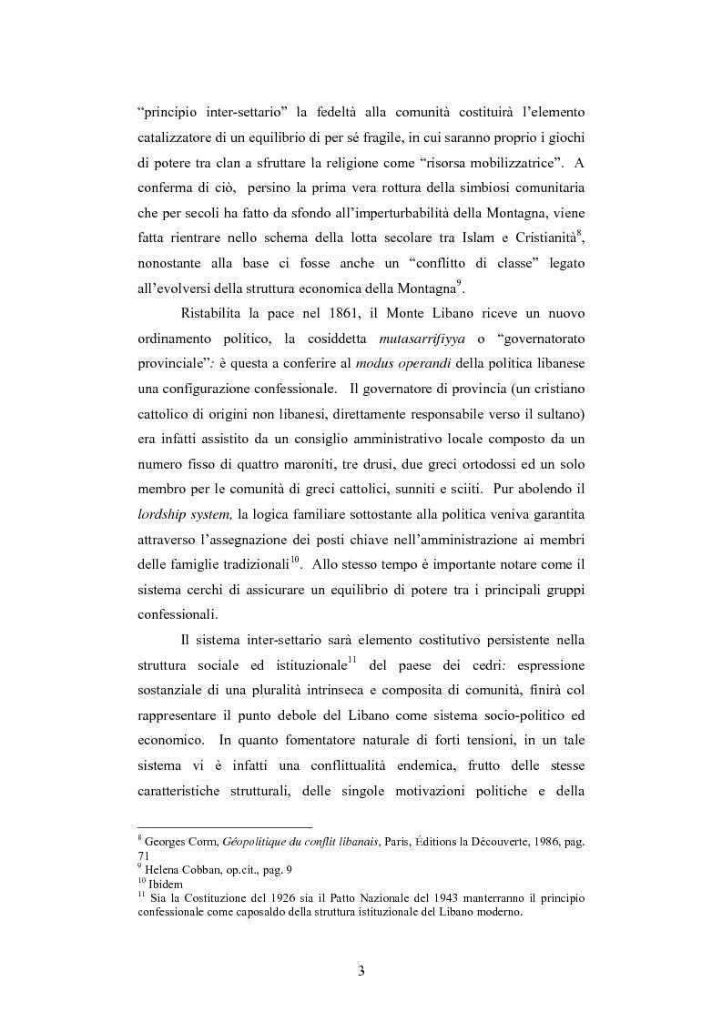 Anteprima della tesi: L'intervento della Forza Multinazionale in Libano nel 1982, Pagina 9