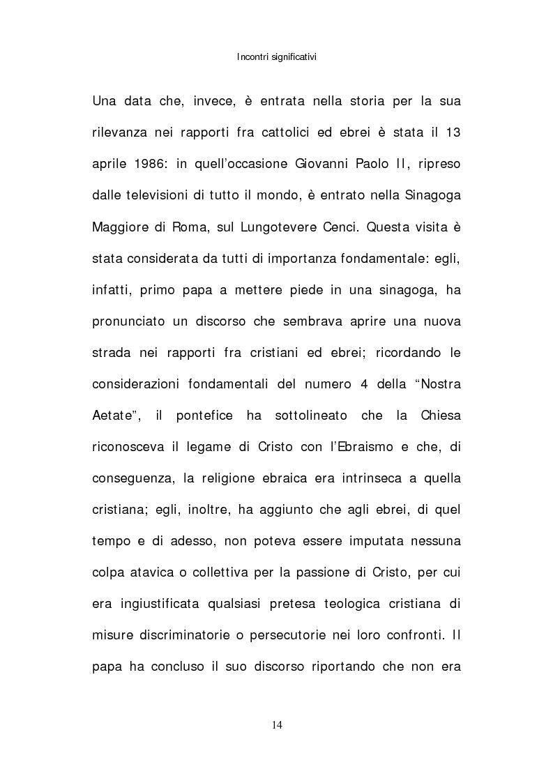 Anteprima della tesi: Il papato di Giovanni Paolo II nella stampa israeliana, Pagina 12