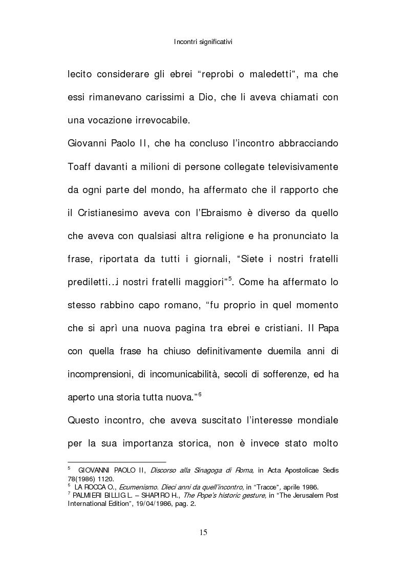 Anteprima della tesi: Il papato di Giovanni Paolo II nella stampa israeliana, Pagina 13
