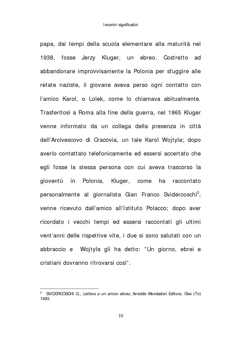 Anteprima della tesi: Il papato di Giovanni Paolo II nella stampa israeliana, Pagina 8