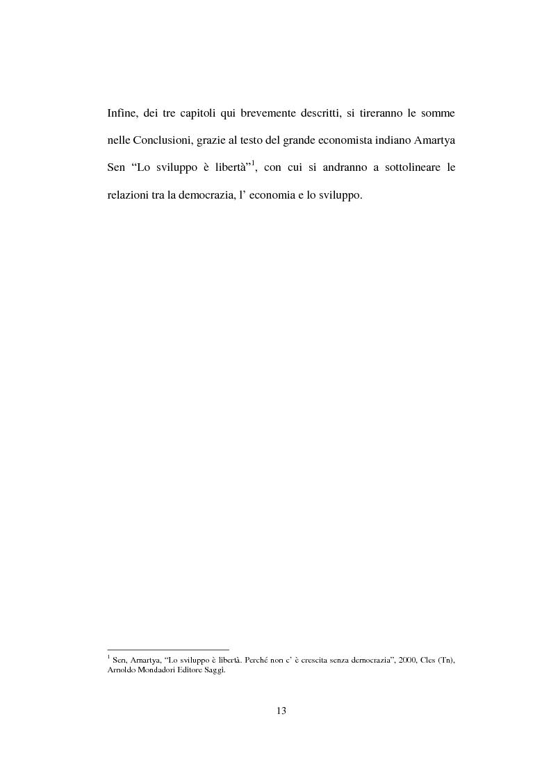 Anteprima della tesi: Lo Sviluppo Umano nei Paesi arabi, Pagina 11