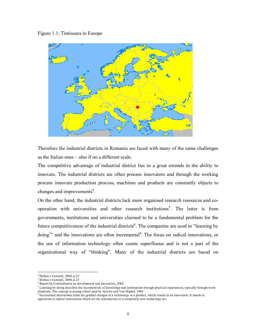 Anteprima della tesi: The impacts of Foreign Direct Investment on the working force of the Romanian industry, the case of Timisoara distric, Pagina 2