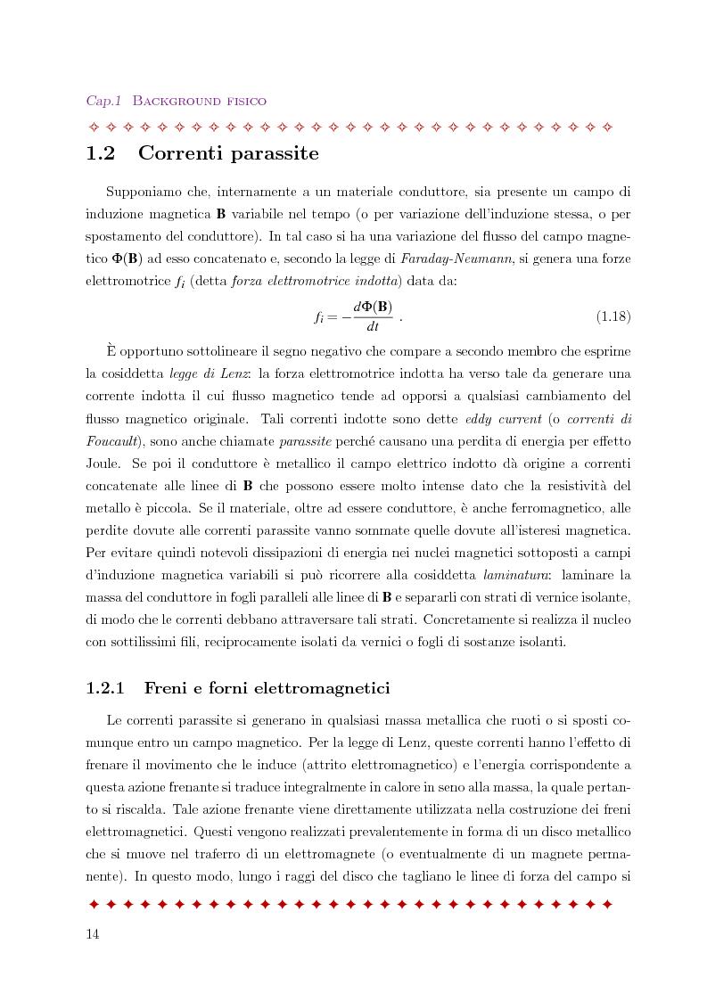Anteprima della tesi: Metodo degli elementi finiti per l'approssimazione numerica del problema delle correnti parassite, Pagina 10