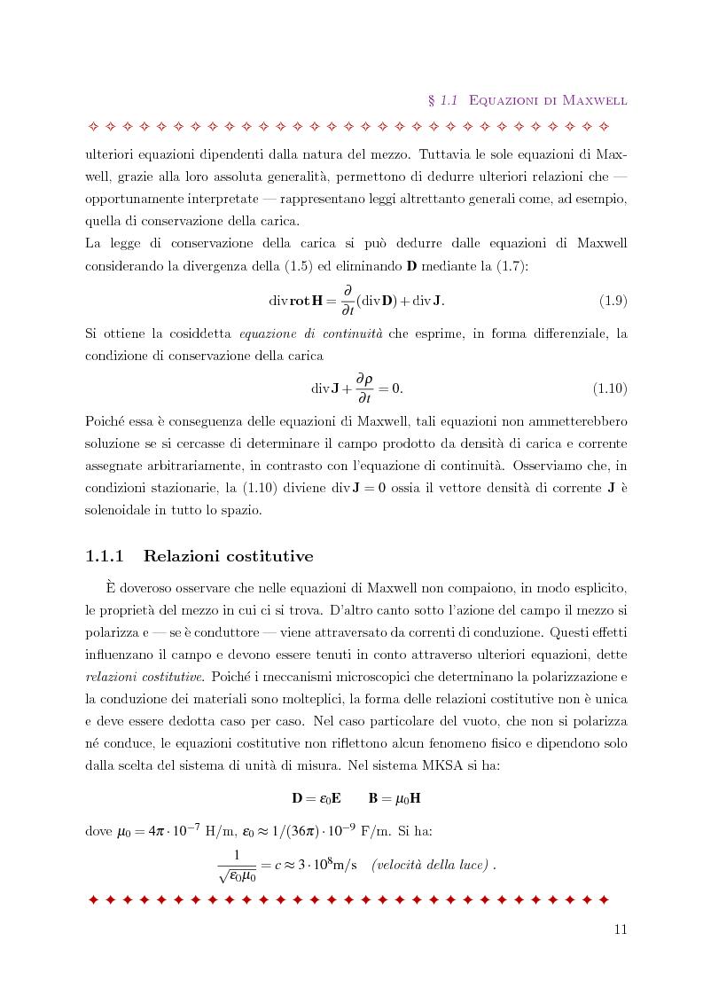 Anteprima della tesi: Metodo degli elementi finiti per l'approssimazione numerica del problema delle correnti parassite, Pagina 7