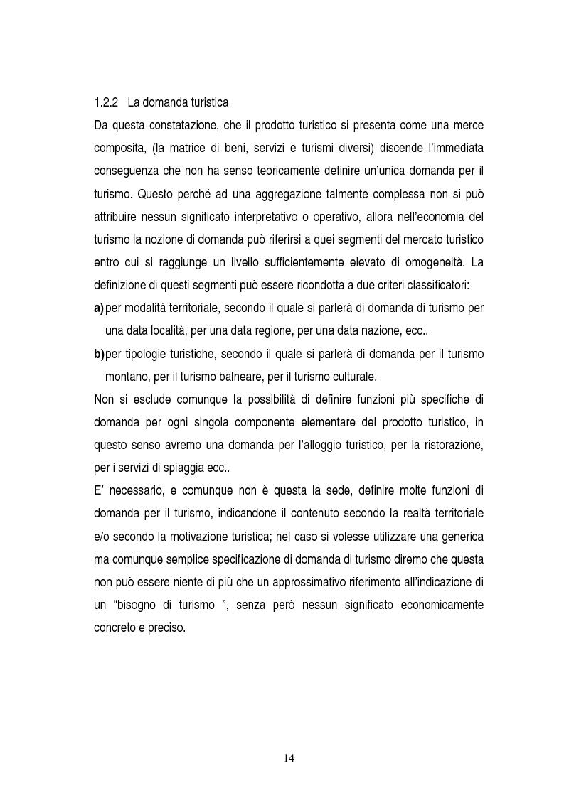 Anteprima della tesi: La gestione dei servizi di un villaggio turistico, Pagina 10