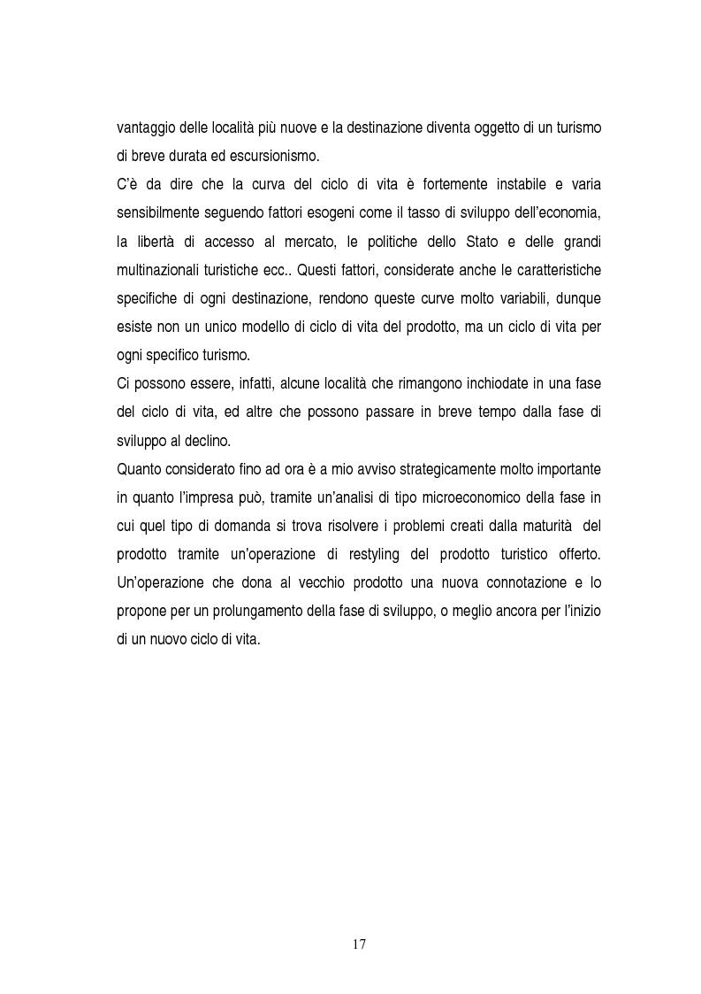 Anteprima della tesi: La gestione dei servizi di un villaggio turistico, Pagina 13