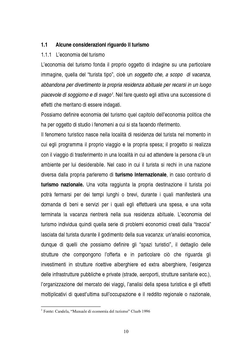 Anteprima della tesi: La gestione dei servizi di un villaggio turistico, Pagina 6