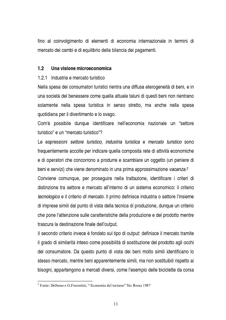 Anteprima della tesi: La gestione dei servizi di un villaggio turistico, Pagina 7