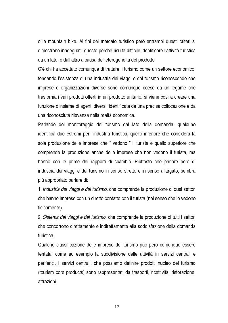Anteprima della tesi: La gestione dei servizi di un villaggio turistico, Pagina 8
