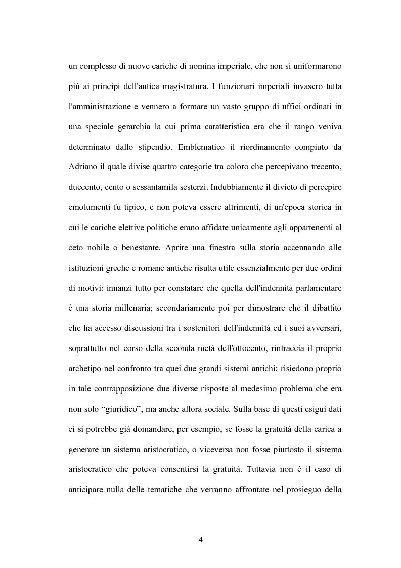 Anteprima della tesi: L'indennità parlamentare, Pagina 2