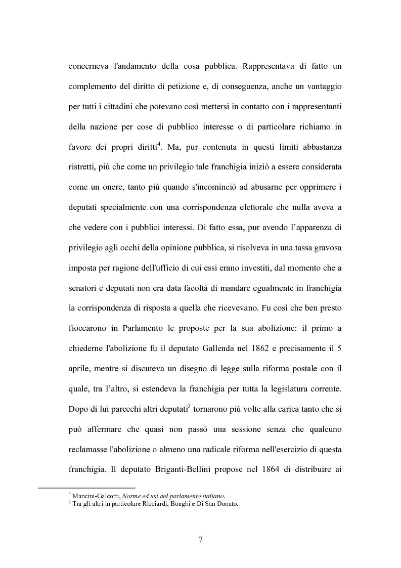 Anteprima della tesi: L'indennità parlamentare, Pagina 5