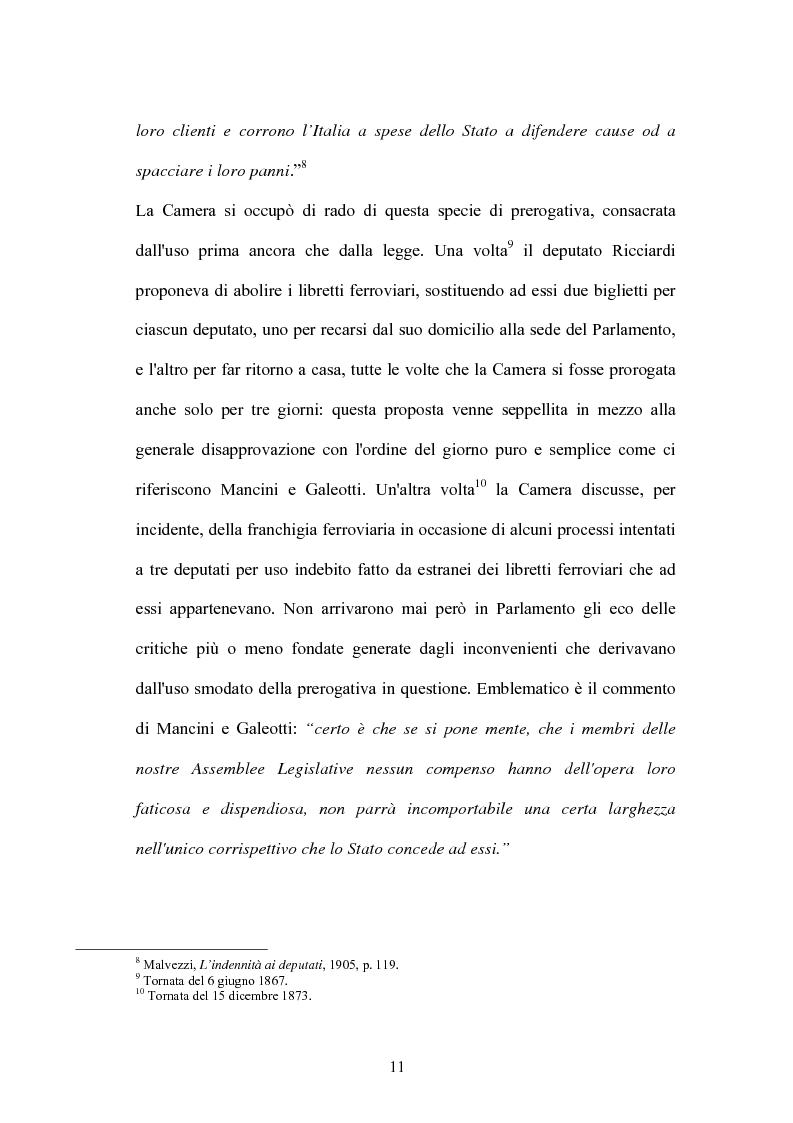 Anteprima della tesi: L'indennità parlamentare, Pagina 9