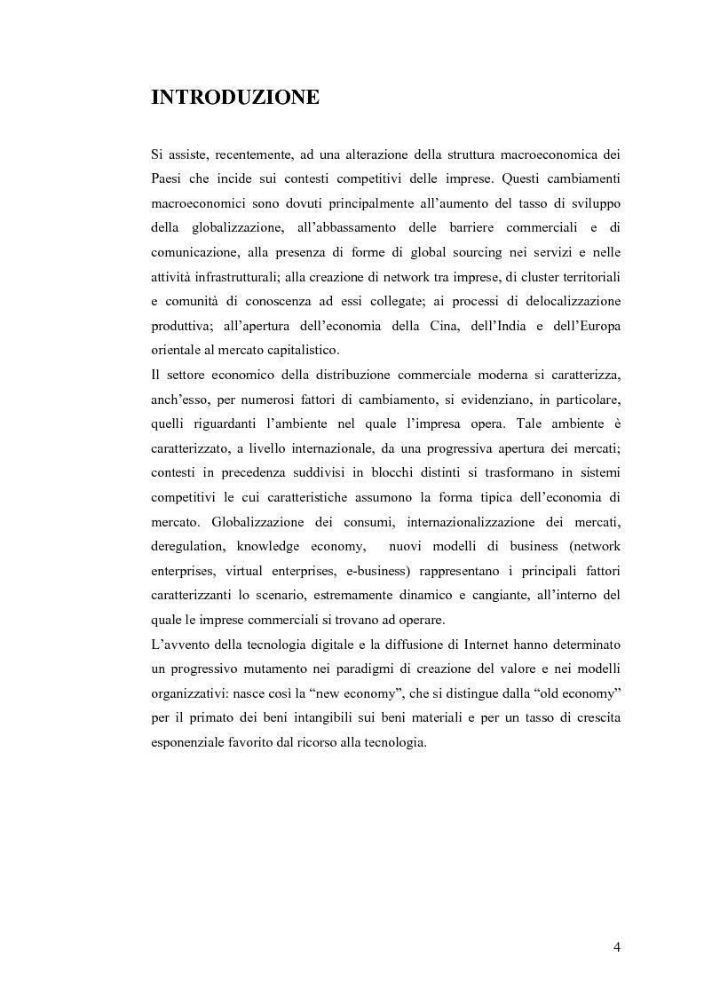 Anteprima della tesi: Il knowledge management nella distribuzione moderna: strumenti e soluzioni di business intelligence, Pagina 1