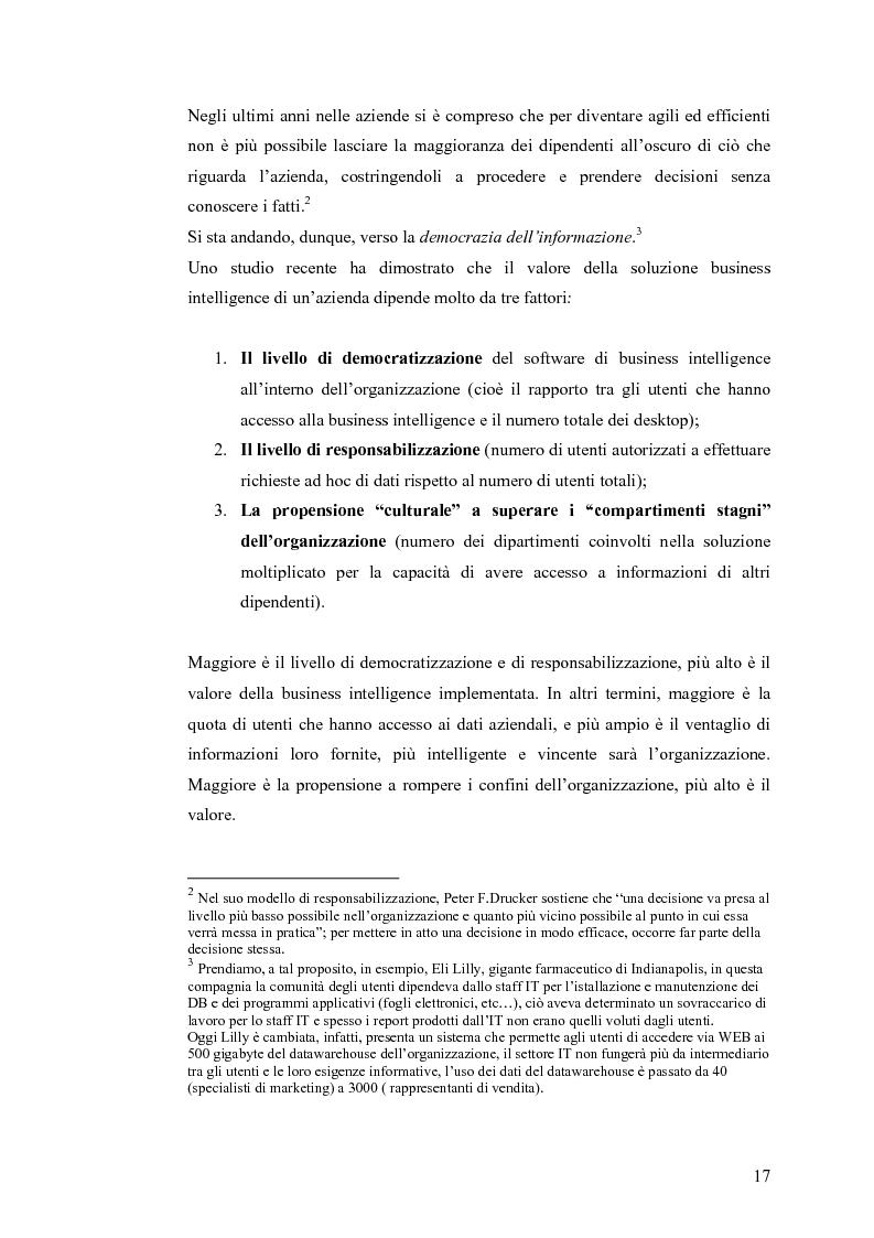 Anteprima della tesi: Il knowledge management nella distribuzione moderna: strumenti e soluzioni di business intelligence, Pagina 14