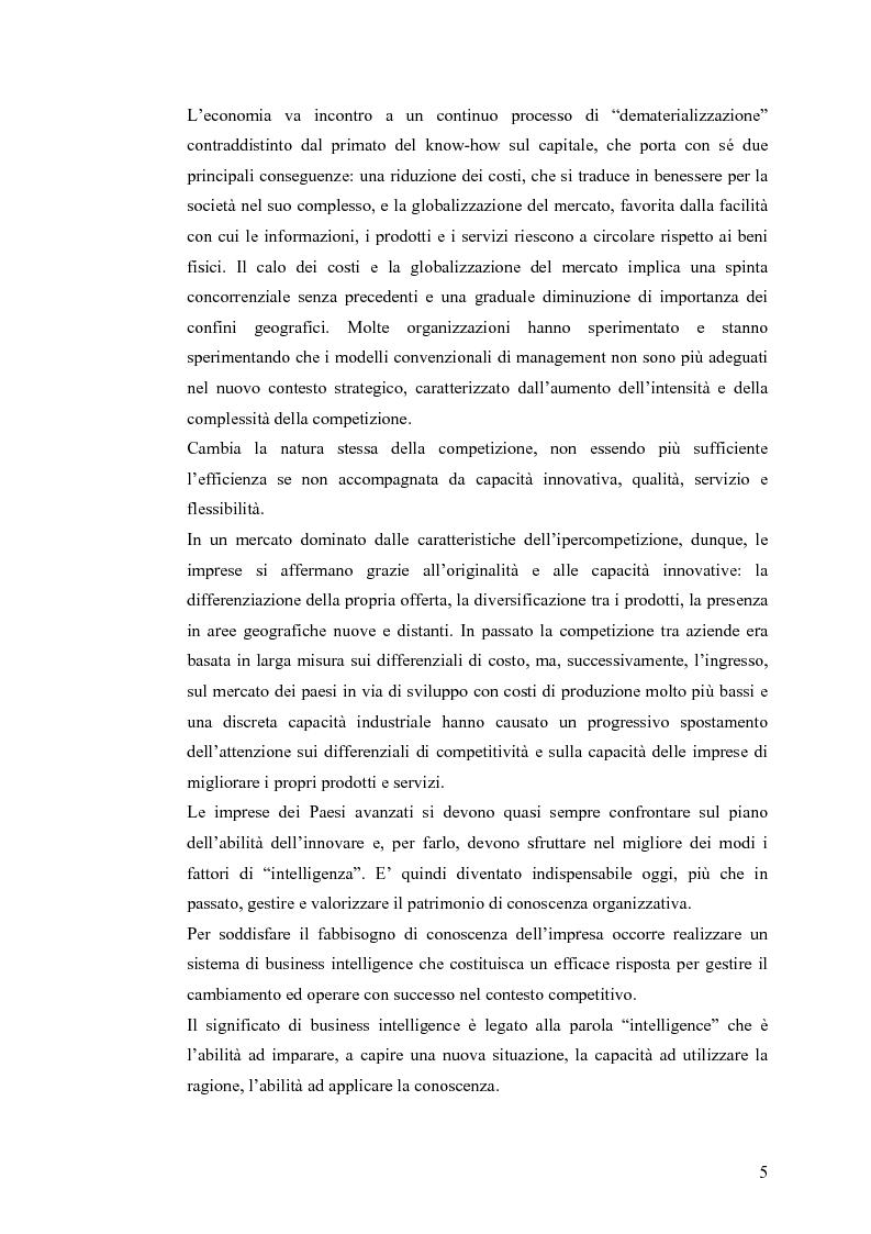 Anteprima della tesi: Il knowledge management nella distribuzione moderna: strumenti e soluzioni di business intelligence, Pagina 2