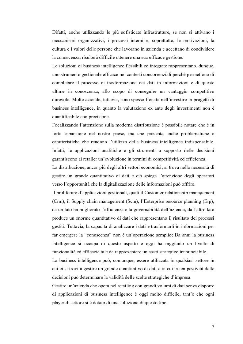 Anteprima della tesi: Il knowledge management nella distribuzione moderna: strumenti e soluzioni di business intelligence, Pagina 4