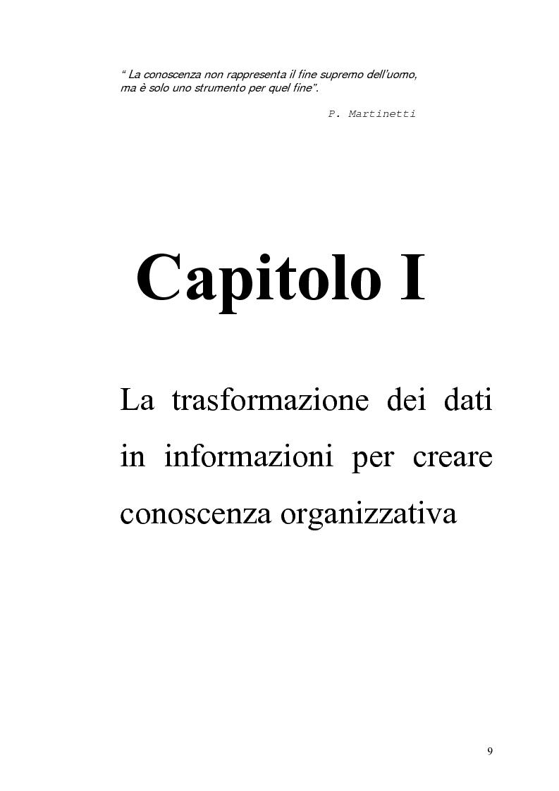 Anteprima della tesi: Il knowledge management nella distribuzione moderna: strumenti e soluzioni di business intelligence, Pagina 6
