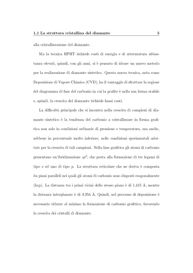 Anteprima della tesi: Parametri dosimetrici caratterizzanti i rivelatori a diamante CVD per la dosimetria di fasci radioterapici, Pagina 12