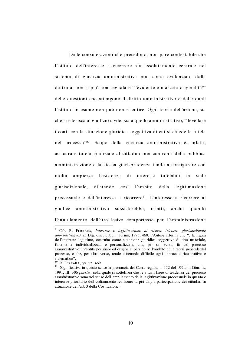 Anteprima della tesi: L'interesse a ricorrere nel giudizio di legittimità costituzionale in via principale, Pagina 6
