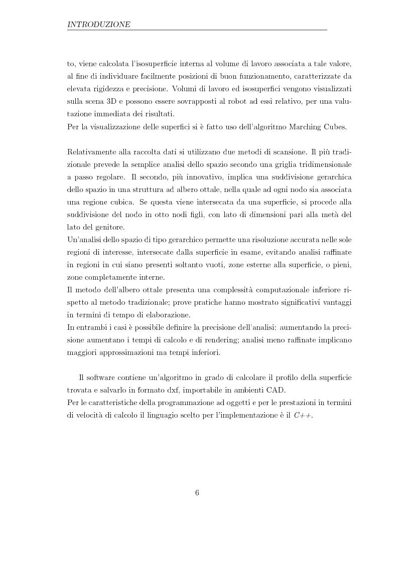 Anteprima della tesi: Applicazione di un metodo innovativo per la valutazione delle proprietà cinematiche di un robot, Pagina 2