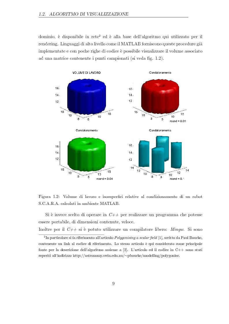 Anteprima della tesi: Applicazione di un metodo innovativo per la valutazione delle proprietà cinematiche di un robot, Pagina 5