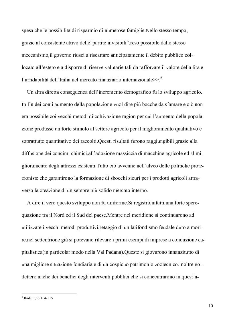 Anteprima della tesi: Le lotte per l'emancipazione della donna: dall'età giolittiana al secondo dopoguerra, Pagina 9