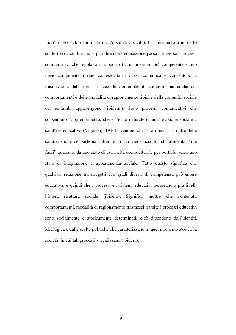 Anteprima della tesi: Educazione e ospedalizzazione del minore, Pagina 6