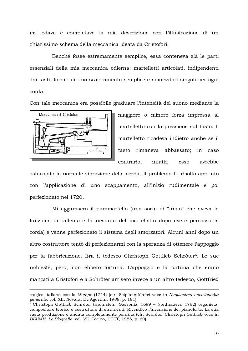 Anteprima della tesi: Il Pianoforte come espressione dell'anima: viaggio tra cinema e realtà, Pagina 10