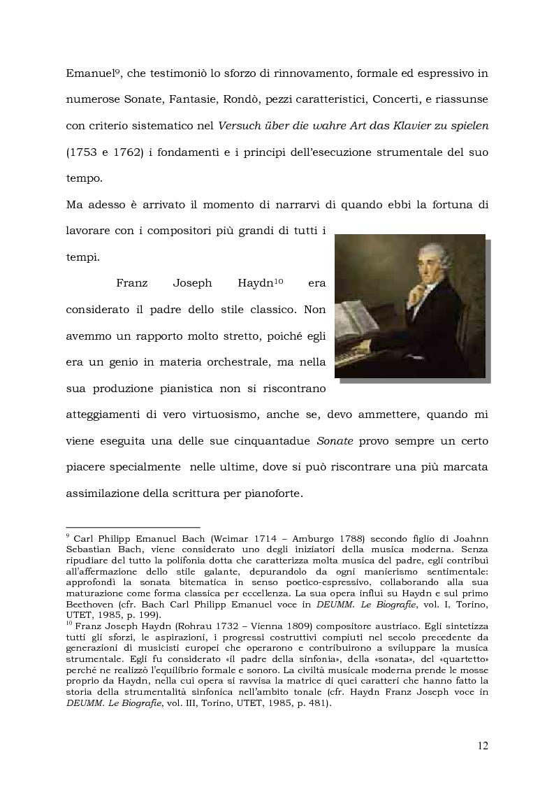 Anteprima della tesi: Il Pianoforte come espressione dell'anima: viaggio tra cinema e realtà, Pagina 12