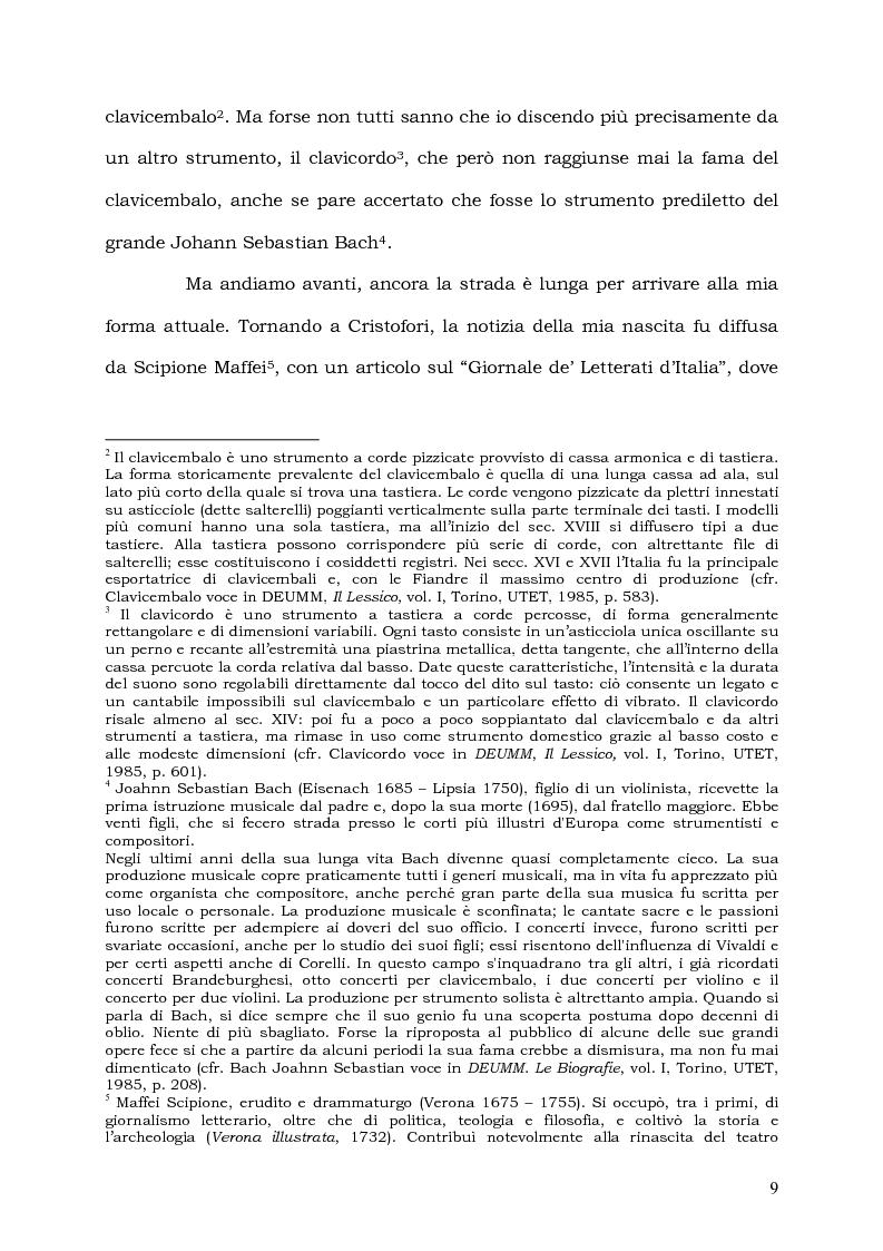 Anteprima della tesi: Il Pianoforte come espressione dell'anima: viaggio tra cinema e realtà, Pagina 9