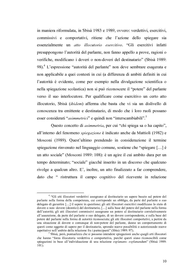 Anteprima della tesi: ''Ma dove stanno i riti, professoressa?''. Interazione ed eventi esplicativi in contesti scolastici., Pagina 10